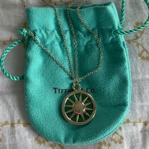 *Still available* Tiffany sterling sun necklace